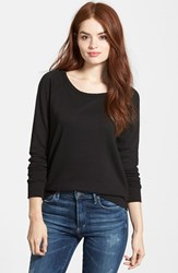 Women's James Perse Classic Raglan Sweatshirt