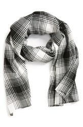 Men's The Rail Plaid Woven Scarf