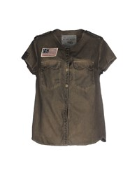 Zadig And Voltaire Shirts Shirts Women Military Green