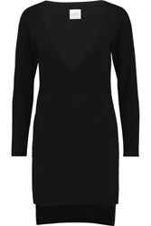 Madeleine Thompson Hover Cashmere Sweater Black