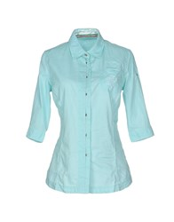 Aeronautica Militare Shirts Shirts Women Light Green