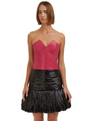 Saint Laurent Sweetheart Bustier Pink