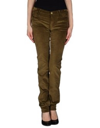 Mih Jeans Casual Pants Military Green
