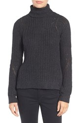 Joe's Jeans Women's Ribbed Turtleneck Sweater Cauldron