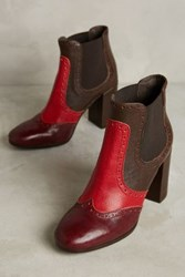 Anthropologie City Stomper Ankle Booties Grey