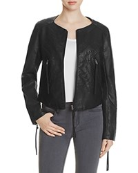 Blank Nyc Blanknyc Faux Leather Jacket Compare At 118 Black