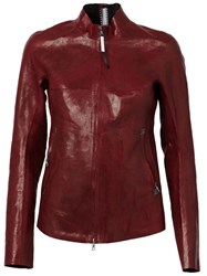 Isaac Sellam Experience 'Ingenieuse Crasse Pouille' Jacket Red