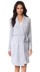 Skin Terry Robe Heather Grey