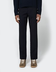 Maison Martin Margiela Drawstring Pant In Dark Blue
