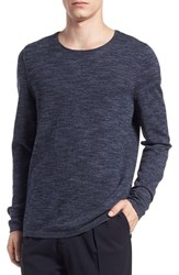 Vince Men's Wool And Cashmere Sweater Night Shadow Coastal