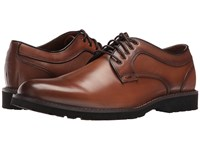 Dockers Baldwin British Tan Burnished Full Grain Men's Lace Up Casual Shoes Red