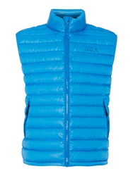 Army And Navy Park Ranger Down Gilet Blue