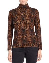 Context Snake Patterned Sweater Cooperhead Snake