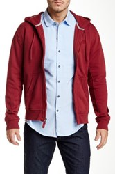 Timberland Hooded Cordovan Sweater Red
