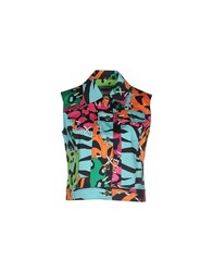 Moschino Cheap And Chic Moschino Cheapandchic Coats And Jackets Jackets Women Turquoise