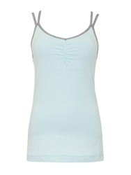 Green Lamb Active Tank Top Aqua