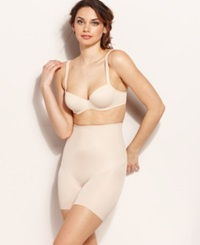 Naomi And Nicole Firm Control Soft And Smooth Comfortable High Waist Boyshort 7758 Cupid Nude