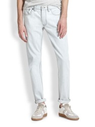 Marc By Marc Jacobs Bleached Straight Leg Jeans Bleach Out
