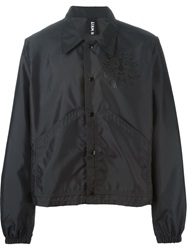 Liam Hodges Cropped Coach Jacket Black