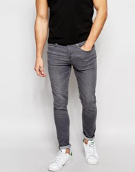 New Look Super Skinny Fit Jeans In Grey Warmgrey