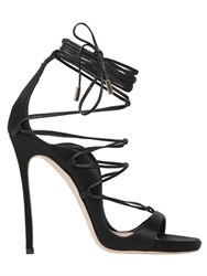 Dsquared 120Mm Riri Lace Up Satin Sandals