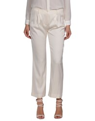 Jasmine Di Milo Trousers Casual Trousers Women Ivory