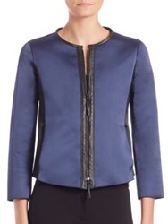 Armani Collezioni Reversible Leather Jacket