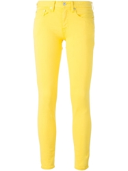 Polo Ralph Lauren Slim Fit Jeans Yellow And Orange