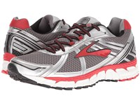 Brooks Defyance 9 Charcoal Silver High Risk Red Men's Running Shoes Gray