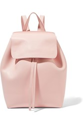 Mansur Gavriel Mini Leather Backpack Pastel Pink