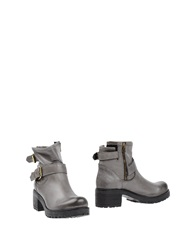 Mauro Fedeli Ankle Boots Grey