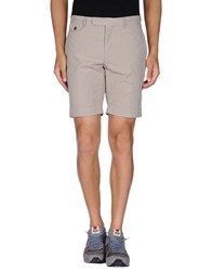 Incotex Trousers Bermuda Shorts Men Beige