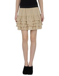 Edun Skirts Mini Skirts Women Beige