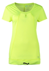 Drop Of Mindfulness Catskills Sports Shirt Yellow Mesh Neon Yellow