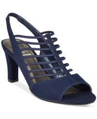 Impo Varoom Dress Sandals Women's Shoes Navy