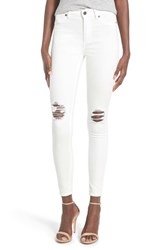 Women's Cheap Monday High Rise Distressed Skinny Jeans