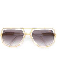 Cazal '656' Sunglasses Nude And Neutrals