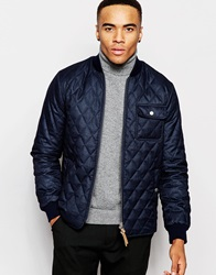 New Look Lightweight Quilted Jacket Blue
