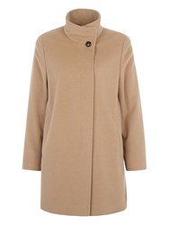 Basler Classic Coat With Cashmere Brown
