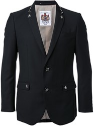 Education From Youngmachines Two Button Blazer Black