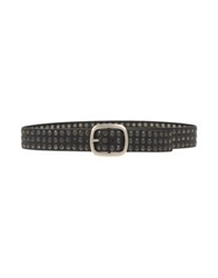Claudio Orciani Belts Black