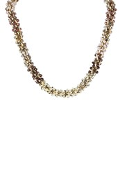 Miss Selfridge Necklace Pastel Multi Gold