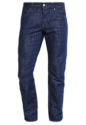 Esprit Edc By Straight Straight Leg Jeans Blue Rinse Rinsed Denim