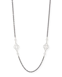 Armenta Heraldry Scroll Cable Chain Necklace 37