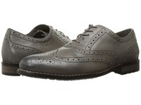 Nunn Bush Tj Wingtip Oxford Gray Men's Lace Up Wing Tip Shoes