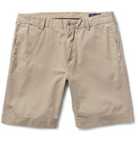 Polo Ralph Lauren Pima Cotton Twill Chino Shorts Neutrals