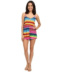 Show Me Your Mumu Rorey Romper Searape Party Cloud Women's Jumpsuit And Rompers One Piece Multi