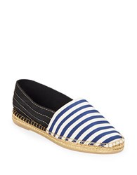 Marc Jacobs Sienna Espadrille Flats Navy Blue