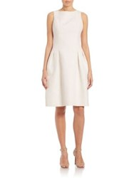 Teri Jon By Rickie Freeman Rose Jacquard Party Dress