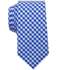 Bar Iii Men's Troy Checked Skinny Tie Only At Macy's